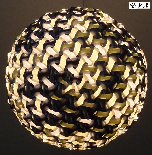 Lampion aus 810 Teilen